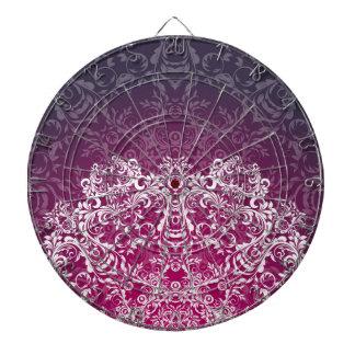 Mandala pattern dartboards