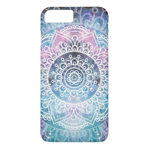 Mandala Pattern | Watercolor Galaxy Phone Case