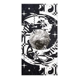 Mandala Personalized Photo Card
