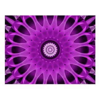 Mandala pink and purple created by Tutti Postcard