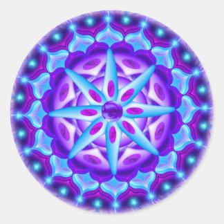 Mandala Planula Pegatina Redonda