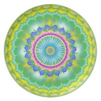 Mandala Plate - Green