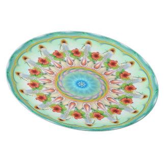 Mandala Plate - Loving