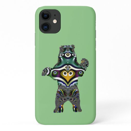 Mandala Polar Bear iPhone 11 Case
