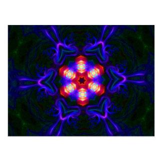 Mandala Postcard - Thank you message