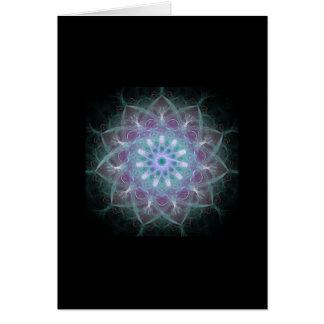 Mandala potente de la alta energía tarjeta