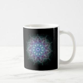 Mandala potente de la alta energía taza