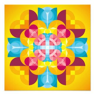 Mandala Prayer Photo