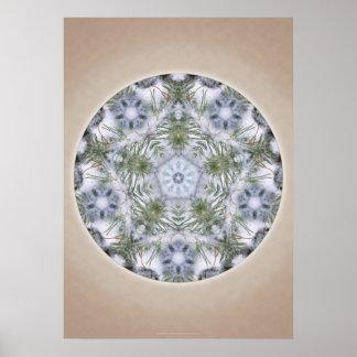 """Mandala print - """"Invincible Sun"""""""