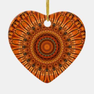 Mandala privacy by Tutti Ceramic Ornament
