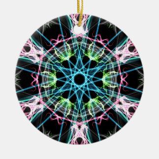 Mandala psicodelica.png ceramic ornament