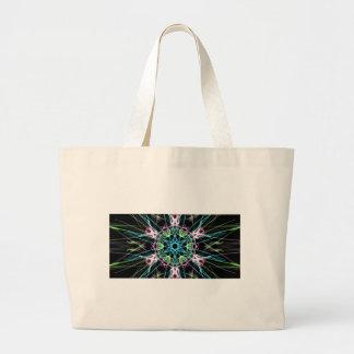Mandala psicodelica.png large tote bag