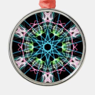 Mandala psicodelica.png metal ornament