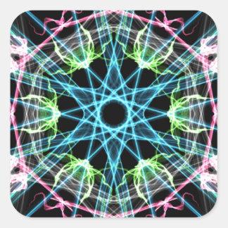 Mandala psicodelica.png square sticker