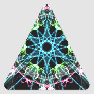 Mandala psicodelica.png triangle sticker