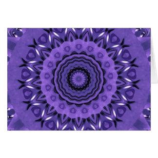 Mandala purple Hearts created by Tutti Card