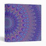 """Mandala púrpura carpeta 1"""""""