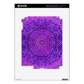 Mandala púrpura iPad 3 skin