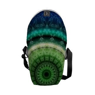 Mandala respect created by Tutti Messenger Bag