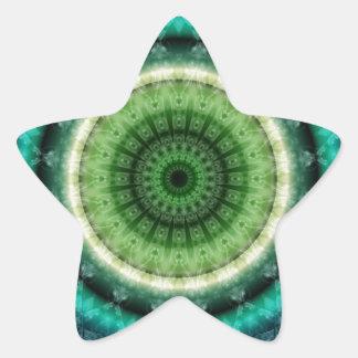 Mandala respect sticker