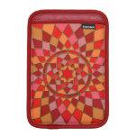 mandala rosada carmesí roja del Pinata Fundas Para iPad Mini