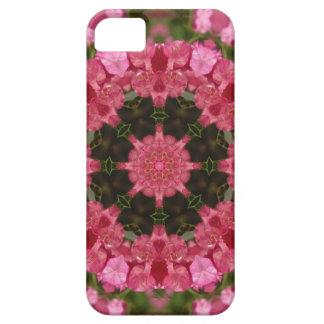 Mandala rosada iPhone 5 Case-Mate cárcasas