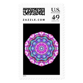 Mandala rosada sellos