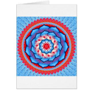 Mandala Rosette Card