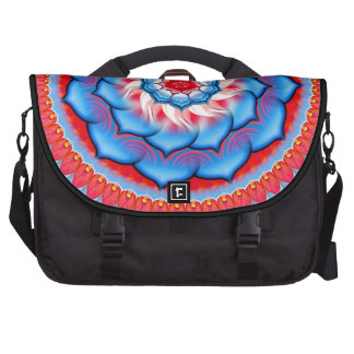 Mandala Rosette Commuter Bag