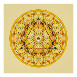 Mandala sagrada 2 de la geometría impresiones