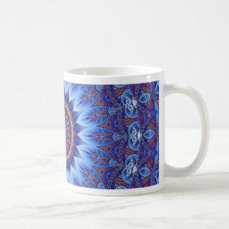 Mandala Sahasrara designed by Tutti Classic White Coffee Mug