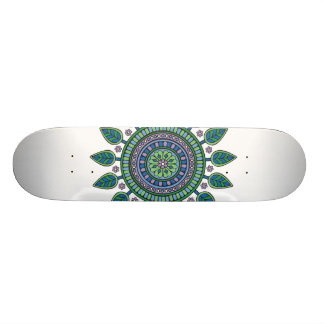 Mandala Skateboard