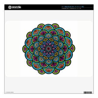 Mandala Sleeve Decals For MacBook Air