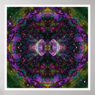 Mandala solar 2 póster
