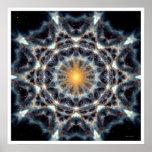 Mandala solar 4 póster
