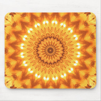 Mandala soleada Mousepad de la energía curativa Tapete De Raton