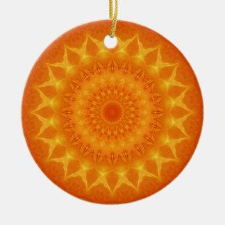 Mandala source of life designed by Tutti Ceramic Ornament