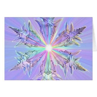 Mandala Sparkle Glitter Snowflake Crystal Art Cards