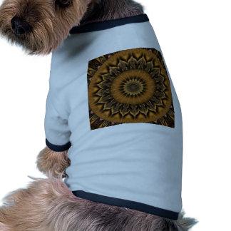 Mandala Star brown created by Tutti Doggie Tshirt