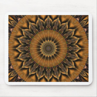 Mandala Star brown created by Tutti Mouse Pad