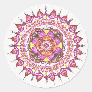 Mandala Sticker - Sunshine inspired