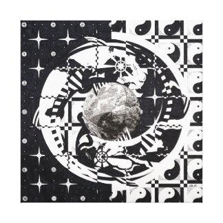 Mandala Stretched Canvas Print