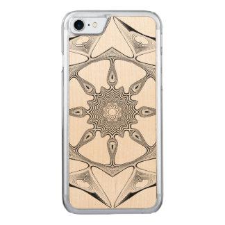 Mandala Style Carved iPhone 7 Case