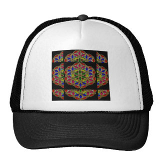 Mandala style Colorful Necklace Pendent designs 99 Trucker Hat