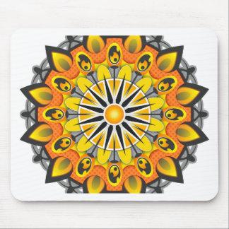 Mandala Style Mouse Pad