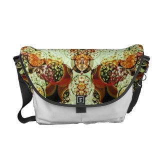 Mandala Style Rickshaw Messenger Bag