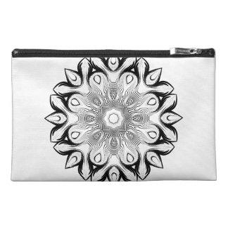 Mandala Style Travel Accessory Bag