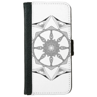 Mandala Style Wallet Phone Case For iPhone 6/6s