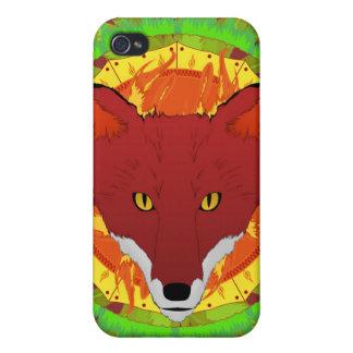 Mandala Summer Fox Cases For iPhone 4