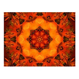 Mandala 'Summer' Postcard